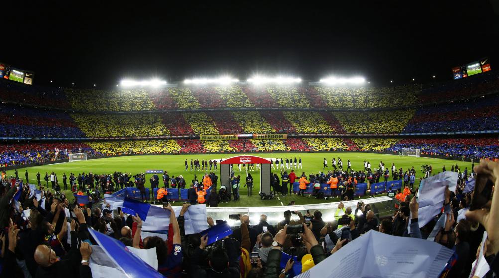Galerie Zuschauer 01 Camp Nou