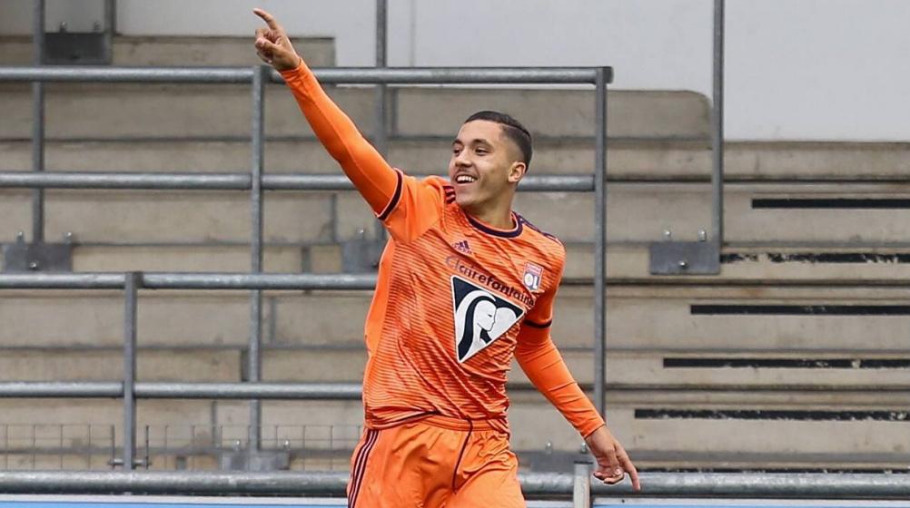 Mathis Rayan Cherki von Olympique Lyon