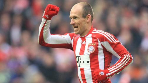 Robben unter den Top 10: Die Rekordtorschützen des FC Bayern