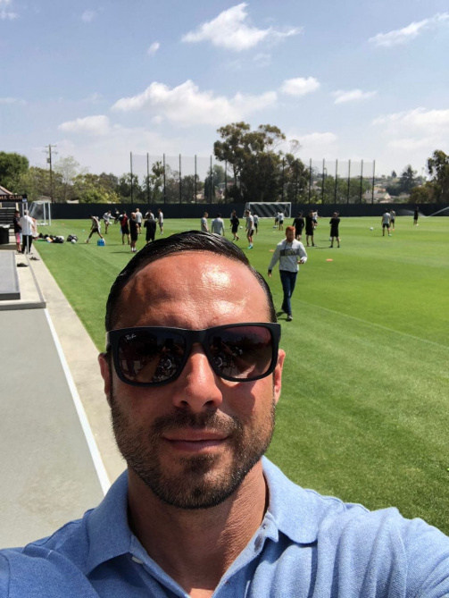 © Alexander Nouri / Nouri beim Training des Los Angeles Football Club