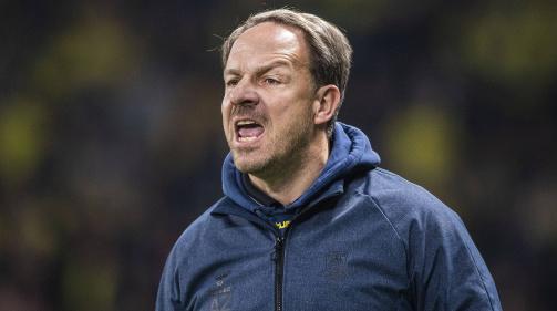 © imago / Emotional an der Seitenline: Bröndby-Trainer Alexander Zorniger