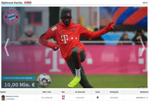 Davis, Arp & Co.: Bayern-Kader im Detail – aktuell nur mit 17 Feldspielern