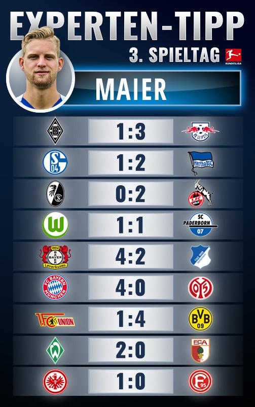 Bundesliga 3. spieltag