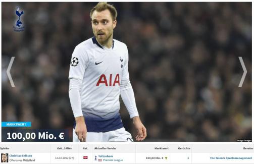TM-Galerie: Die wervollsten Spieler mit Vertragsende im Juni