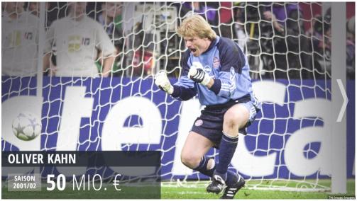 © Transfermarkt/imago images - Oliver Kahn und Co.: Das wären die Bayern Legenden heute wert. Link zur Galerie