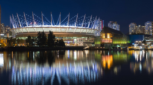 BC Place from the outside