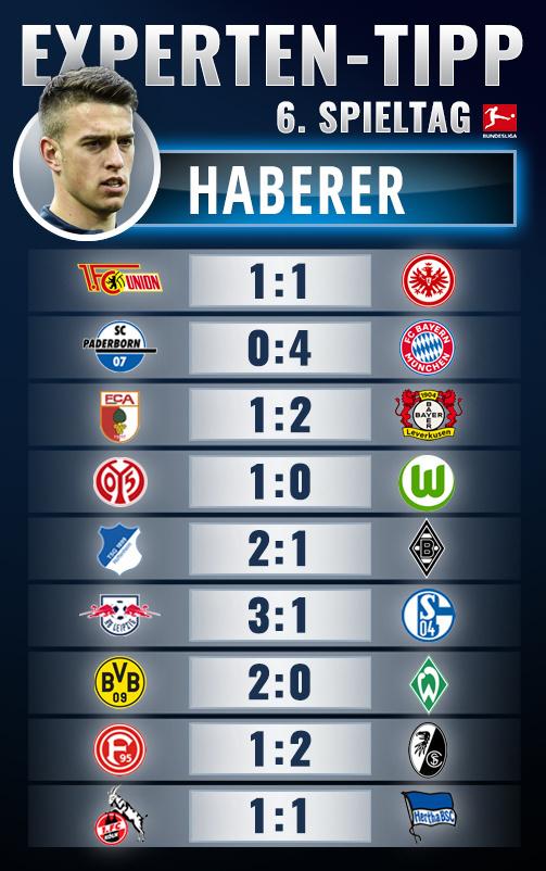Bundesliga 6 tippen