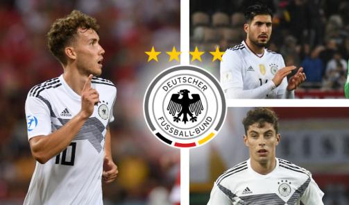 Von 90 Mio. bis 6,5 Mio. Euro: DFB-Kader nach Marktwerten sortiert