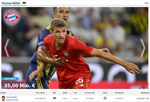Müller vor Alaba: Die dienstältesten Bayern-Profis in der Galerie