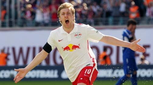 © imago / Ohne Ibrahimovic spielt Leipzigs Forsberg in Schwedens Offensive die wichtigste Rolle
