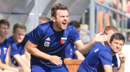 © imago images/TM - Beim SV Drochtersen/Assel stand Enrico Maaßen 145 Pflichtspiele an der Seitenlinie