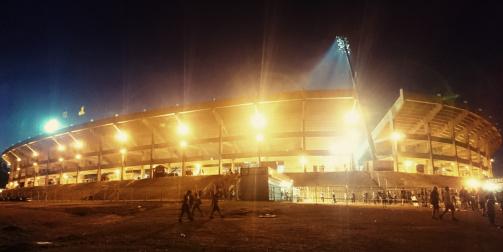 © Dr. Niklas Wallmeier - Das Estadio Campeón del Siglo von Außen
