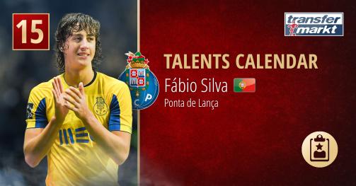 Fábio Silva, promessa do FC Porto
