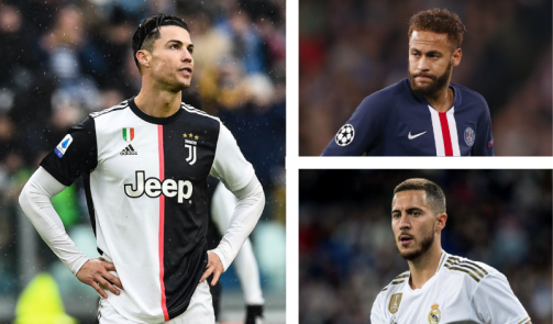 From Ronaldo to Neymar - the biggest market value losers in 2019