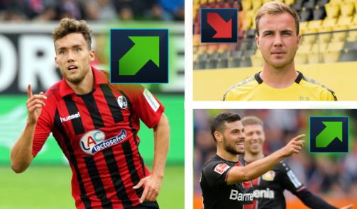 Bundesliga'da piyasa değeri değişen oyuncuların galerisi