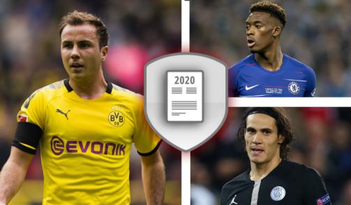 © imago images/TM - Götze, Hudson-Odoi und Cavani & Co.: Die wertvollsten Spieler mit Vertragsende 2020 in der Galerie