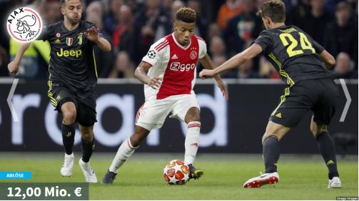 Neres, Ibrahimovic & Co.: Die teuersten U19-Neuzugänge von Ajax