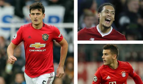 Maguire, van Dijk & Co. - the most expensive defenders in history