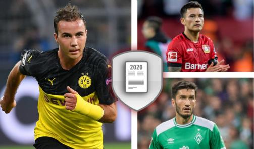 Götze & Co.: Die wertvollsten Bundesliga-Spieler mit auslaufendem Vertrag