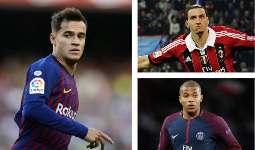 Coutinho, Mbappé & Co.: Die wertvollsten Leihspieler der Geschichte