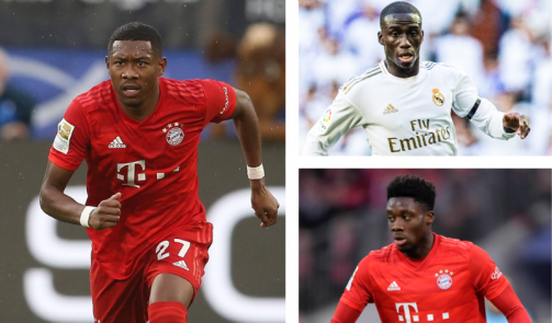 Two Bayern players in the top 10 - The most valuable left-backs