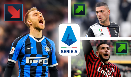 Eriksen, Hernández & Co. - The most valuable Serie A players