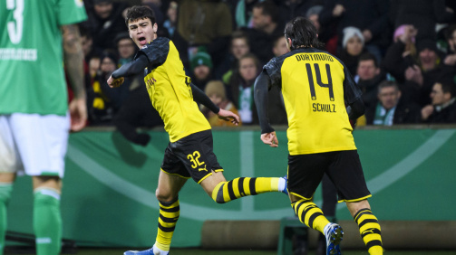 Reyna youngest BVB player in UCL history