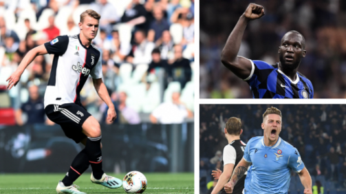 De Ligt, Lukaku & Co.: los más valiosos de la Serie A en la galería