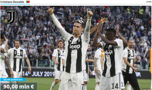 Galleria: i calciatori più preziosi della Serie A