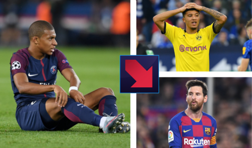 Mbappé increases lead, TAA in top 10: Market value changes for the stars
