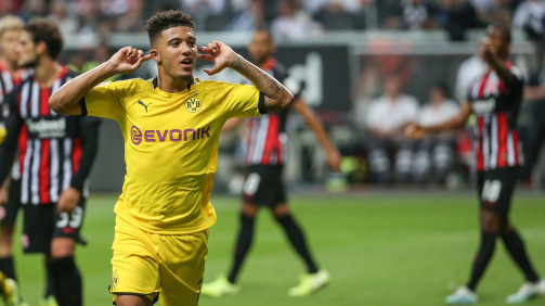 Sancho on top - English players in the Bundesliga