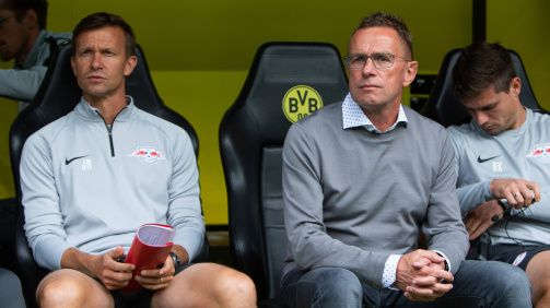 imago images - Jesse Marsch worked with Ralf Rangnick at RB Leipzig last season