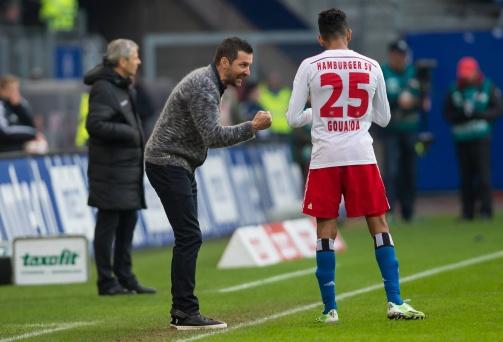 © imago / Während Joe Zinnbauers Zeit als HSV-Cheftrainer kam Mohamed Gouaida zu elf Bundesliga-Einsätzen