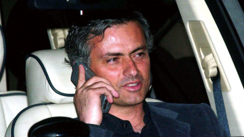 Mourinho appeared at the inquiry into the tapping up allegations and was hit with a charge