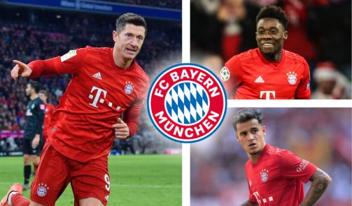 © imago images/TM - Nach dem Update: Der Bayern-Kader nach Marktwerten in der Galerie