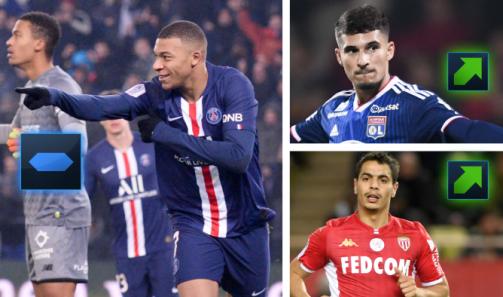 Após a atualização: Os mais valiosos da Ligue 1