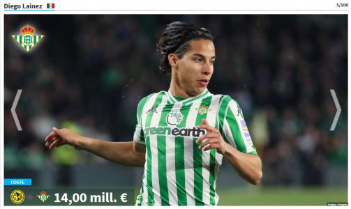 Los mayores traspasos de la Liga MX.