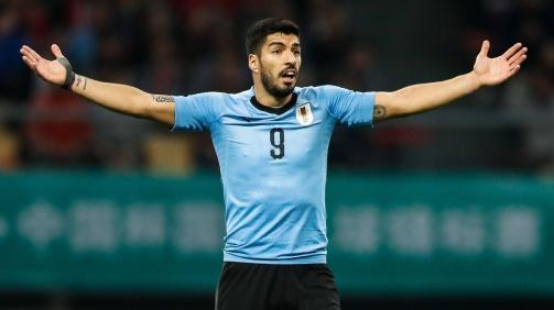 Luis Suárez beschwert sich