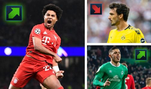 Tüm yeni değerler: Piyasa değerlerine göre Bundesliga'nın yıldızları
