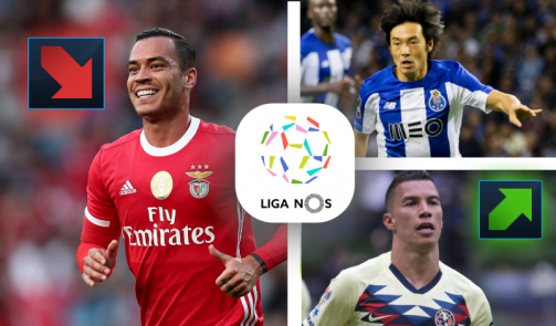 de Tomás, Nakajima & Co - the most valuable Liga NOS players