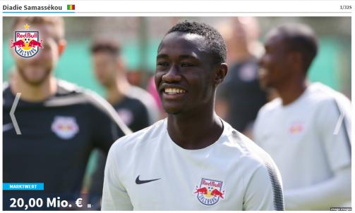 Samassékou und Co.: Die wertvollsten Profis der österreichischen Bundesliga