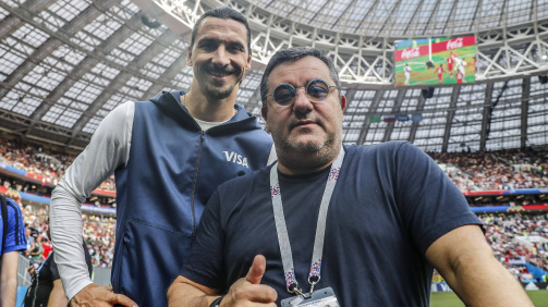 Pogba, Ibrahimovic & Co. - These players are represented by Mino Raiola