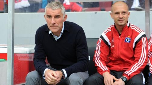 Gemeinsam mit Mirko Slomka arbeitete Nestor El Maestro bei Schalke, Hannover und dem HSV (Foto: imago)