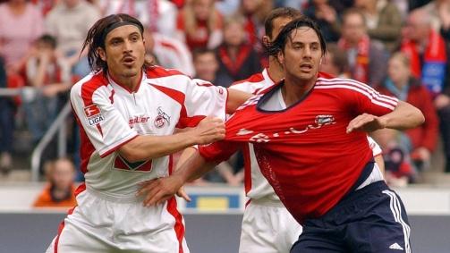 © imago / Mustafa Dogan spielte in der Saison 2003/04 für den 1.FC Köln - auch gegen den heutigen FC-Profi Claudio Pizarro