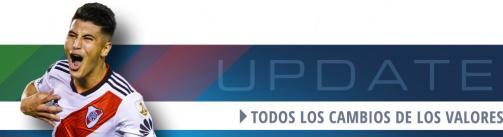 Nuevos valores de mercado en la Superliga Argentina
