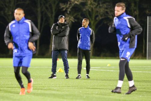 © imago images/TM - Oliver Reck beim Training des SSV Jeddeloh II: Seit 23.12. ist er Chefcoach beim Regionalligisten