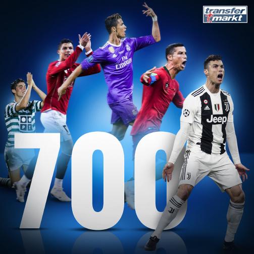 """""""Orgoglioso di aver segnato il 700/o gol della mia carriera"""""""