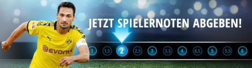 Jetzt die Noten für den 11. Bundesliga-Spieltag abgeben!
