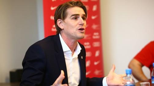 © imago / Arbeitet seit 2010 für Red Bull Salzburg, seit 2015 als Sportdirektor: Christoph Freund