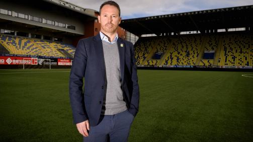STVV-Sportdirektor Tom Van den Abbeele